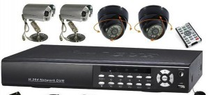 Analog CCTV Security Camera Systems